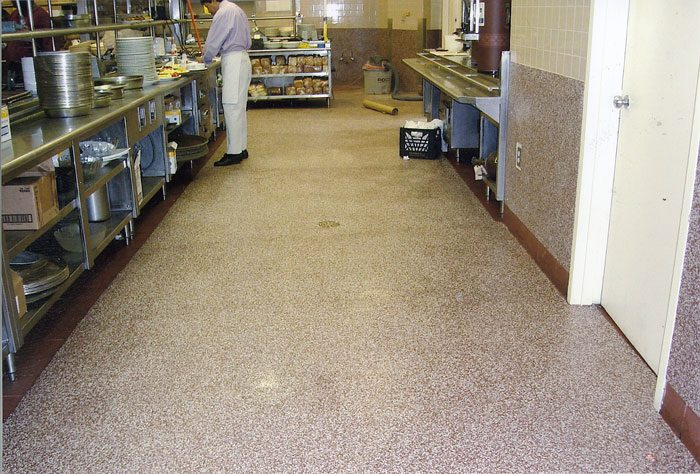 commercial kitchen vinyl flooring jetrock flooring replacement products 5647